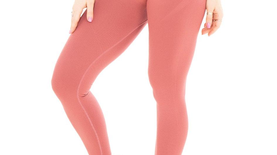 Classic Blush seamless leggings