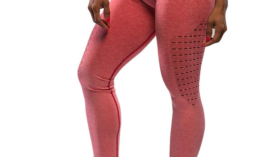 Sovereign Peach Ombré seamless scrunch bottom leggings