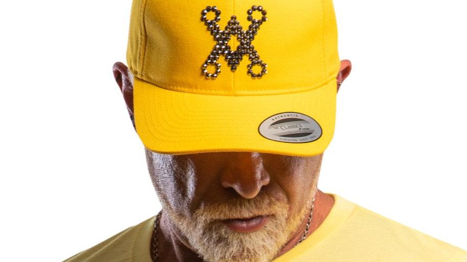 Chalice Blade Crystallised LA Baseball cap (With adjustable strap)