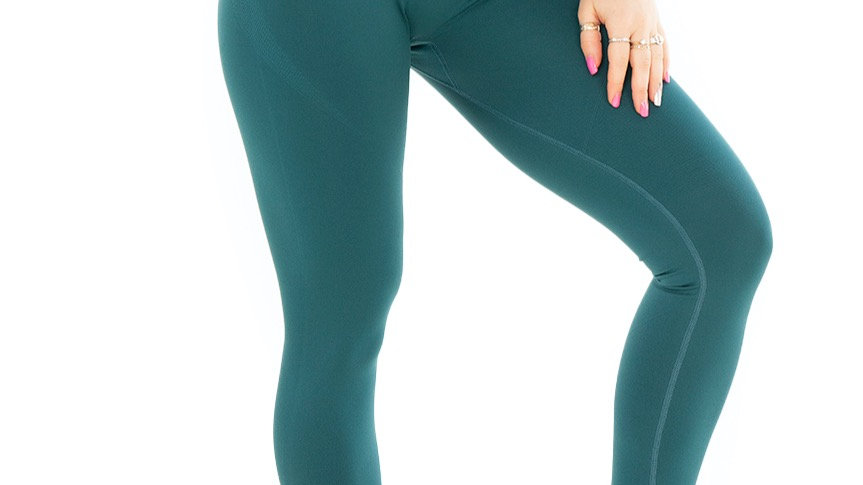 Classic Deep Green seamless leggings