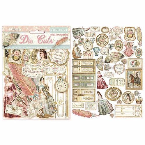 Princess Die Cuts - Stamperia - Princess Assorted Die Cuts