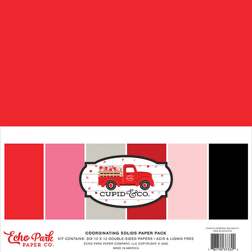 Echo Park Cupid & Co. Solids Kit