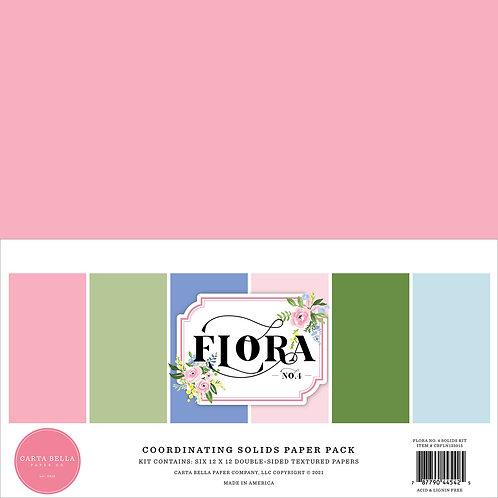 Carta Bella Flora No.4 Solids