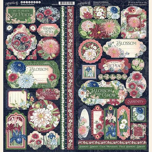 Graphic 45 Blossom Stickers