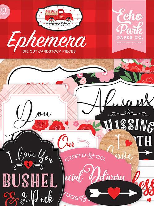 Echo Park Cupid & Co. Ephemera
