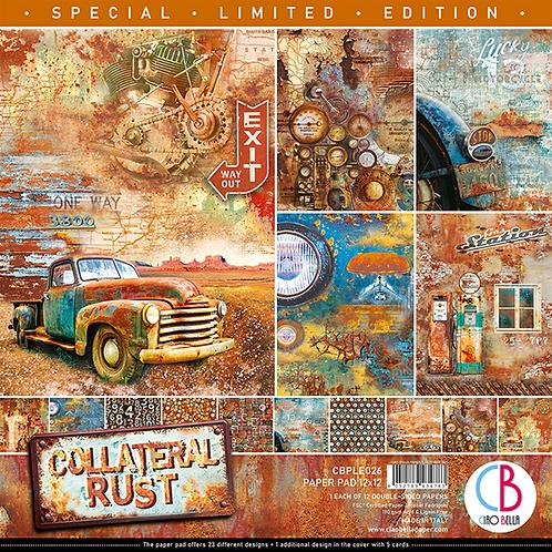 "Ciao Bella Collateral Rust Paper Pad 12""X12"" 12/PKG"