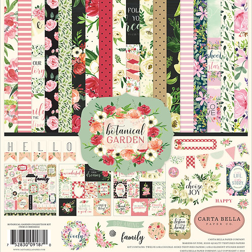 Carta Bella Paper - Botanical Garden Collection - 12 x 12 Collection Kit