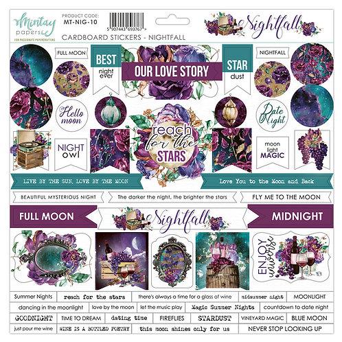 Mintay Nightfall Cardboard Sticker Sheet