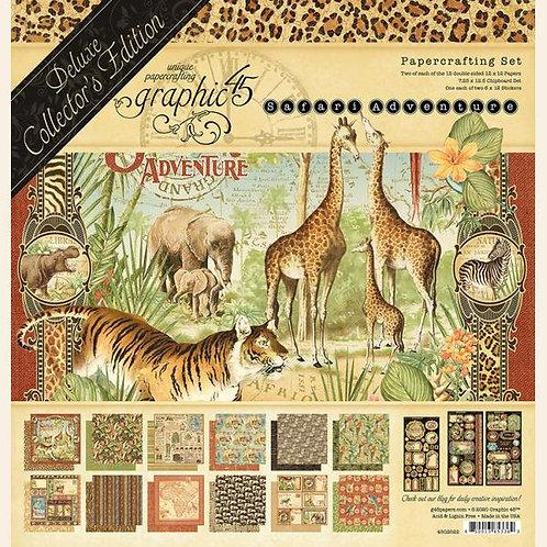 Graphic 45 Safari Adventure Deluxe Collector's Edition