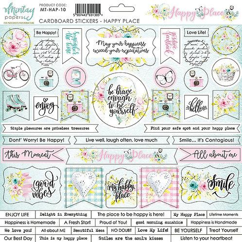 Mintay Happy Place 12 x12 Sticker Sheet