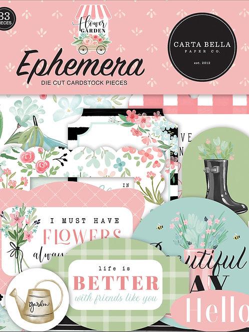 Carta Bella Flower Garden Ephemera