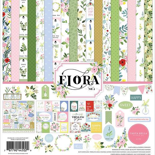 Carta Bella Flora No.4 Paper Collection 12x12