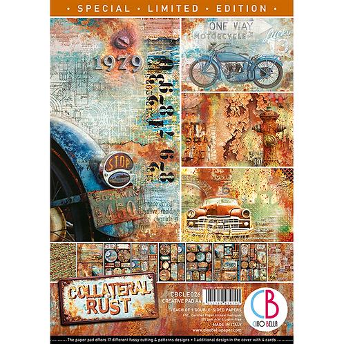 Ciao Bella Collateral Rust Creative Pad A4 9/PKG