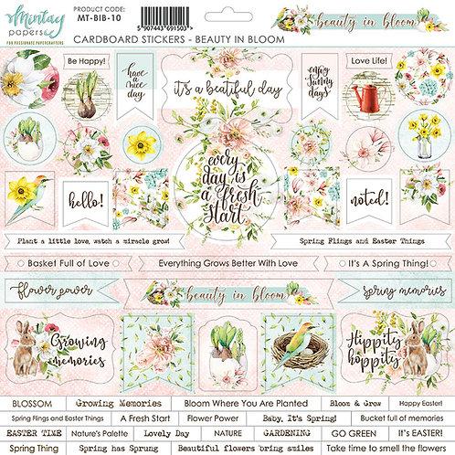 Mintay Beauty in Bloom 12 x 12 Sticker Sheet