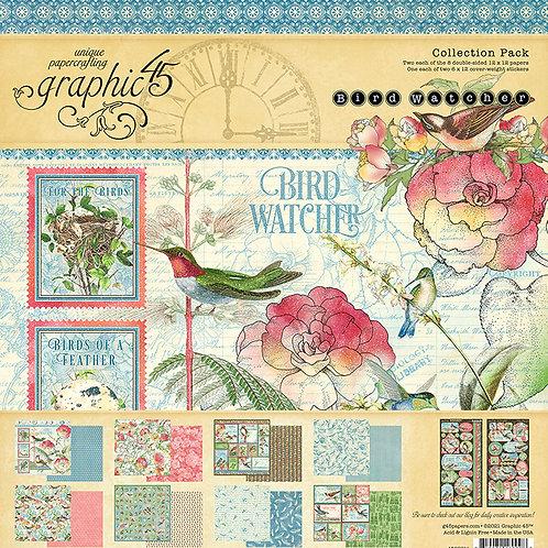 Graphic 45 Bird Watcher 12x12 Collection
