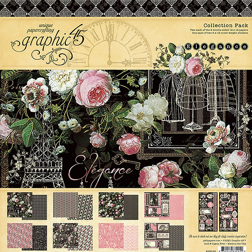 Grapic 45 Elegance 12x12 Collection