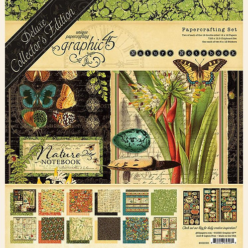 Graphic 45 Nature Notebook Deluxe Collector's Edition