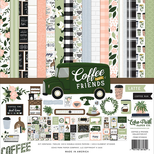 Echo Park Coffee & Friends Collection Kit