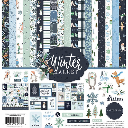 Echo Park - Winter Magic Collection - 12 x 12 Collection Kit