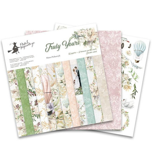 P13 Truly Yours 12 x 12 Paper Pad