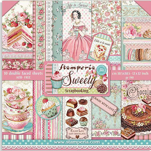 NEW Sweety 12x12 Paper - Double Sided Paper