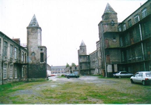 Abandonded lace factory Calais 1996