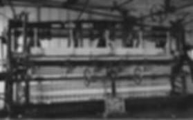 Longmire lace making machine, Nottingham 1904