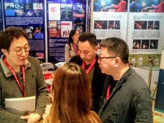 Participating in Shanghai China International Arts Market