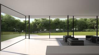 SKYFRAME terraza y jardin color negro