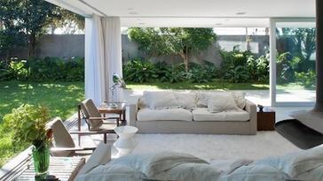 Weiland terraza abierta color blanco