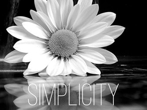 I am living a simple life... and I am loving it!