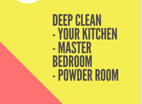 Get your home professionally cleaned on a budget