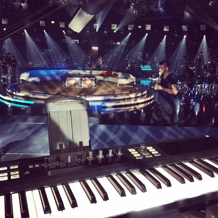 Mein Arbeitsplatz für heute _-) #musicianlife #keyboardist #nativeinstruments #kompletekontrol #ulti