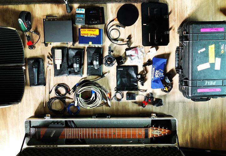 #ichpackemeinenkoffer #equipmentcheck #morgengehtslos #musicaldirector #drummer #stickbass #chapmans