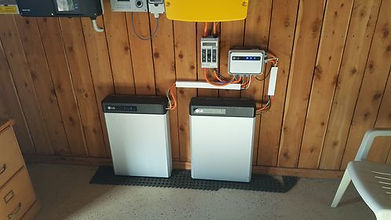Two LG RESU 6.5 installed in customer home