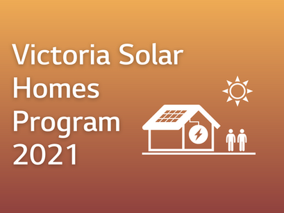 Victoria solar and home battery rebate 2021
