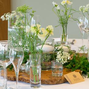 Stem Vase Table Centres..
