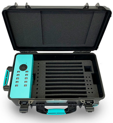 TransformerCase T10® - Sync & Charge für bis zu 10 Geräte via USB