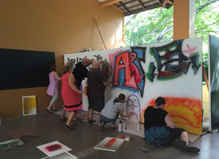 First Post on my new site: Inside an Art Teachers Conference