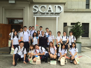 SCAD Workshop for my students