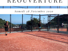 REOUVERTURE - SAMEDI 28 NOVEMBRE !