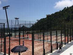 Nos 3 Nouveaux Courts de Padel Eze