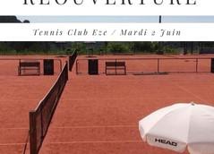 Réouverture Tennis & Padel