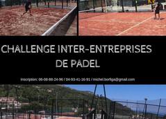 Challenge Inter-Entreprises Padel