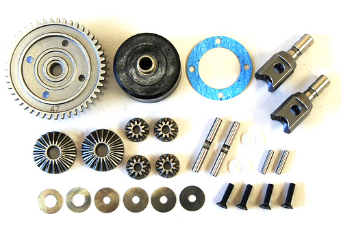 Mugen High Traction Center Differential Set, for 47T, MBX8, MBX7R, and MBX7TR