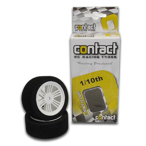 CONTACT FOAM TIRES 1/10 FRONT 26MM 35 SHORE NYLON J13503