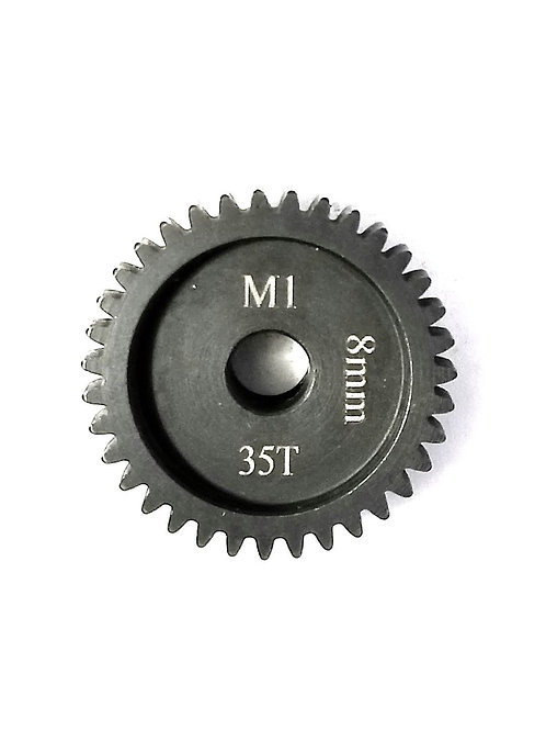 35T 8MM MOD-1 SAGA PINION GEAR * Hardened Steel*
