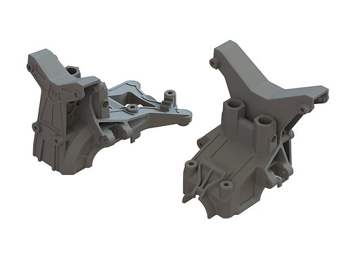 ARRMA F/R COMPOSITE UPPER GEARBOX COVERS/SHOCK TOWER AR320399