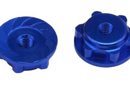 HOT RACING MXX10N06 17mm Serrated Wheel Nuts Maxx 4S BLX