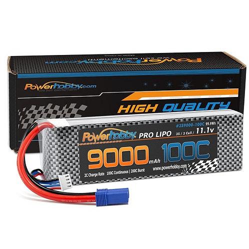 Powerhobby 3S 11.1V 9000mah 100C-200 Lipo Battery w EC5